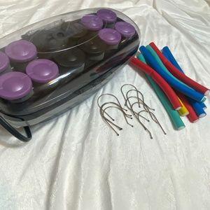 Conair Jumbo Hot Rollers & Heatless Sponge Rollers